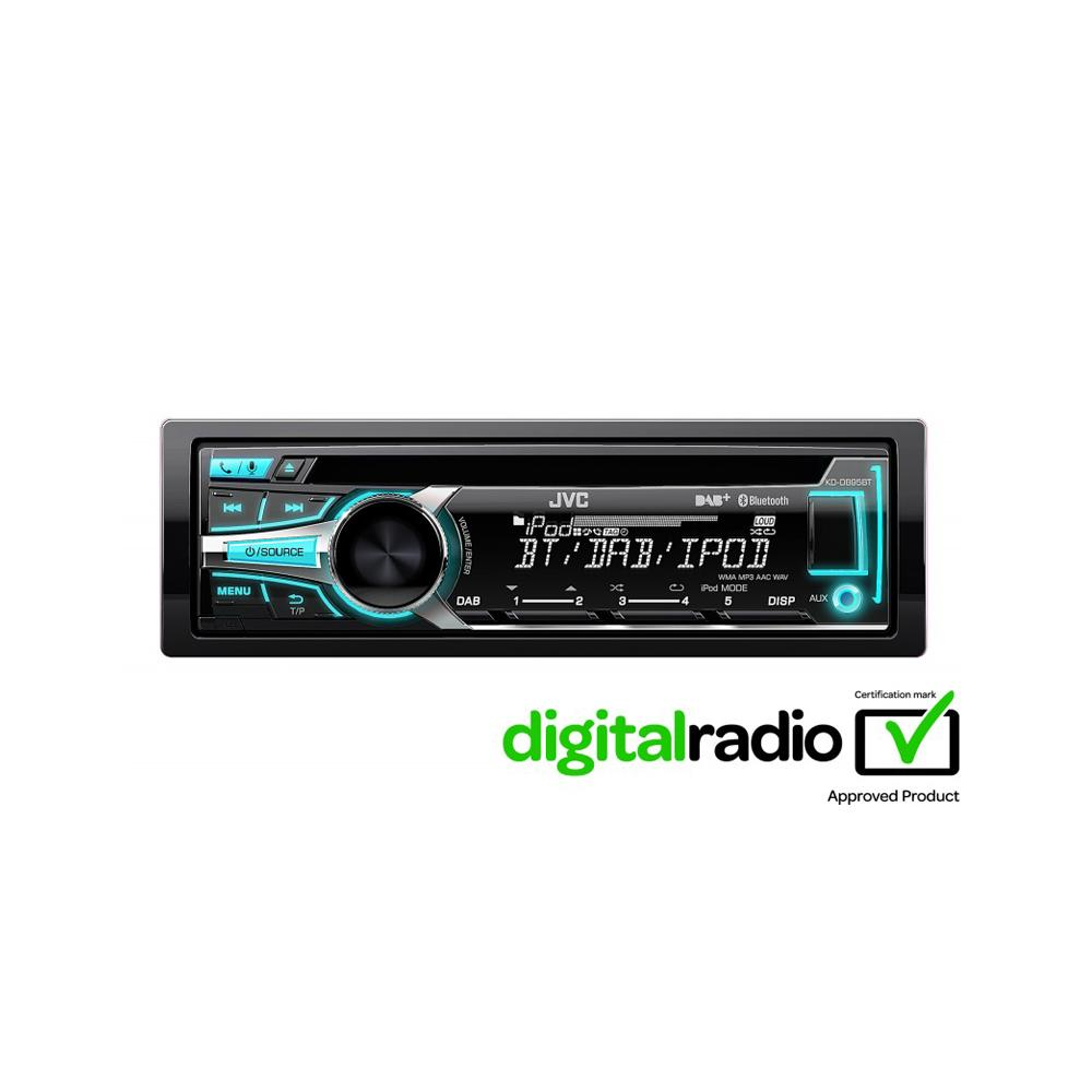 Kd R453 Cd Mp3 Car Stereo Front Usb Aux Input: KD-DB95BT CD/MP3 Car Stereo With Front USB/AUX Input And Bui